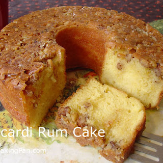 Bacardi Rum Cake.