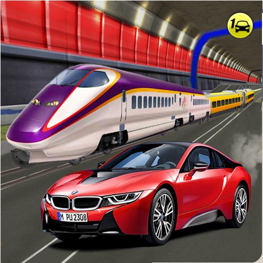 Sports Car vs Train: High Speed Racing Game (game)