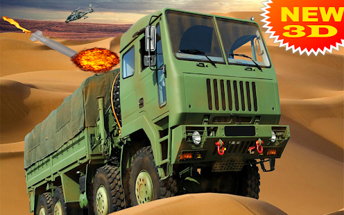 US Military Missile Launcher – Army Truck 2018 - náhled