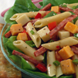 Cool Garlic Summer Pasta Salad