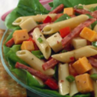 Cool Garlic Summer Pasta Salad.