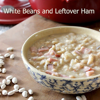 White Beans and Leftover Ham.