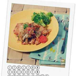 Italian Chicken & Pasta Casserole