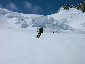 Photo: tour up, ski down