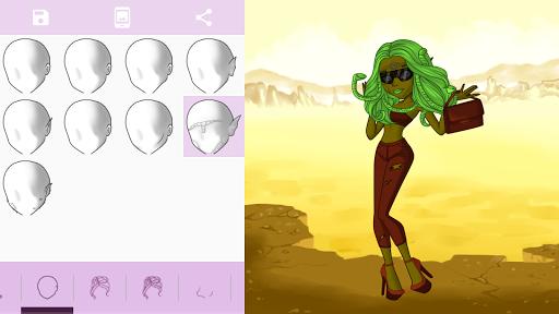 Avatar Maker: Monster Girls screenshot 17