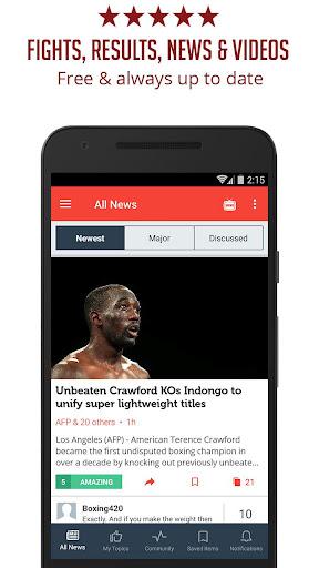 Boxing News - Sportfusion 3.953 screenshots 1