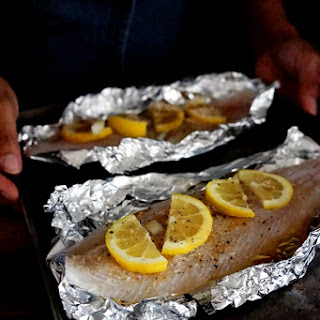 FATHER'S DAY MEAL -Baked Fish Fillet Prepared in Less than 30 Minutes