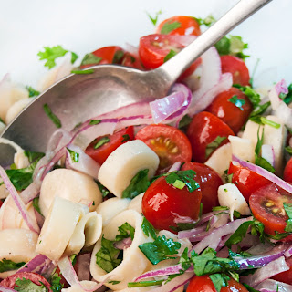 Tomato and Hearts of Palm Salad.