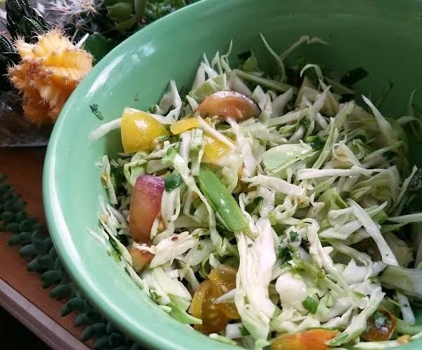 Honduran Cabbage Salad Recipe
