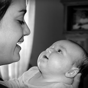 by Debra Lynde - People Family ( mother, baby, smiles,  )
