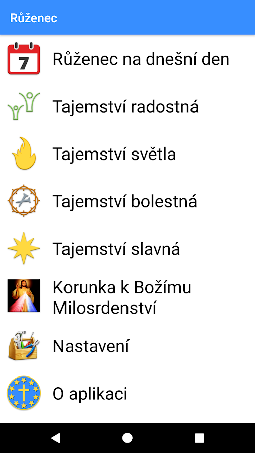 Růženec- screenshot