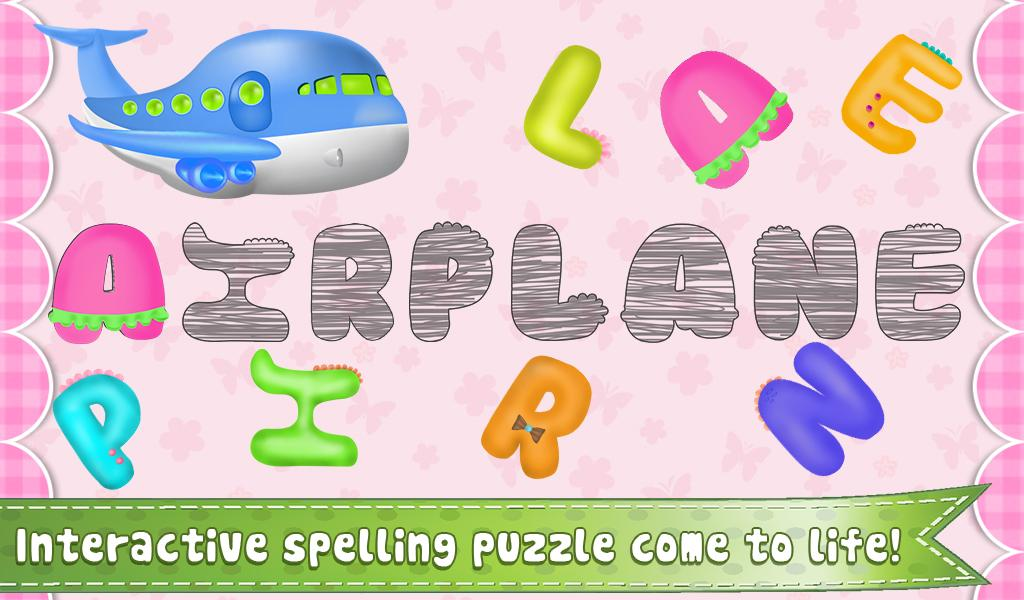 Worksheets I Words For Kids With Pictures preschool words for kids android apps on google play screenshot