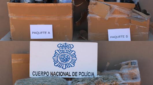 'María' de Almería a Holanda: 3 detenidos cuando iban a enviarla por mensajería