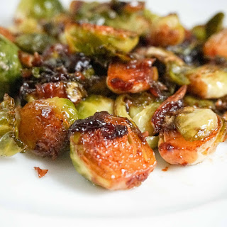 Brussels Sprouts with Hoisin.