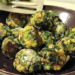 Becky Bergstrom's Spinach Balls