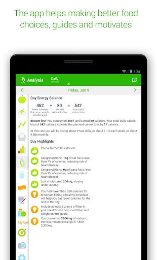 Calorie Counter - MyNetDiary 6.6.3 screenshots 19