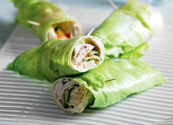 Healthy Turkey Wrap