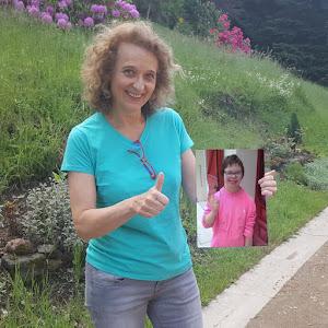 Hélène, parrainée par Sarah pour soutenir le projet de L'Arche à Clermont-Ferrand !