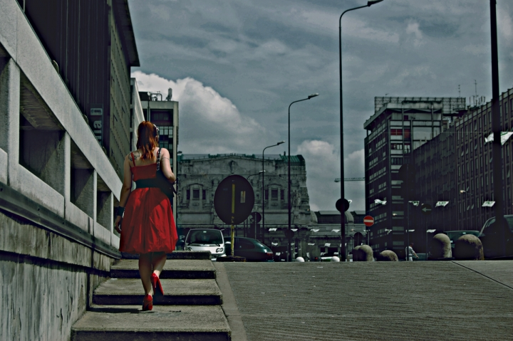 Lady In Red. di wendywonders