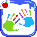 Kids Finger Painting Art Game icon