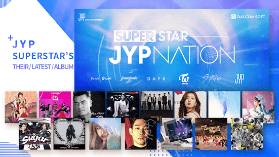 SuperStar JYPNATION Screenshot