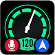 Voice Gps navigation maps: HUD speedometer (app)