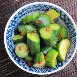 Chyuka Kyuri Tsukemono | Chinese Style Pickled Cucumber.