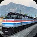 Train Driving 2018 - Fast Train Driver Traveller icon