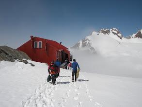 Photo: Plateau Hut, 2200m.