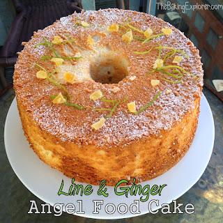 Lime Angel Food Cake Dessert Recipes