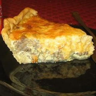 Quiche (Southern Egg Pie).