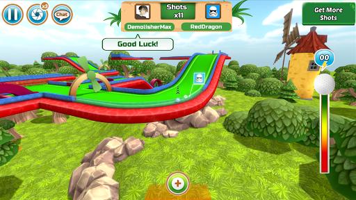 Mini Golf Rivals - Cartoon Forest  captures d'écran 1