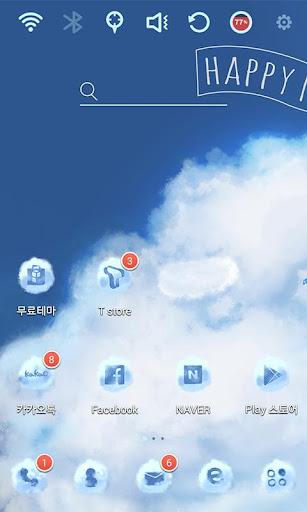 Sheep Cloud Launcher Theme