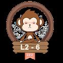 Yoga Monkey Free Fitness L2-6 icon