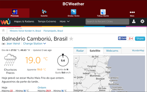 ISCAMBO2 BCWeather screenshot 2