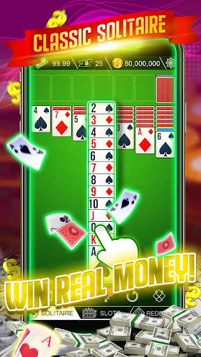 Cash Solitaire - Win Real Money screenshots 1