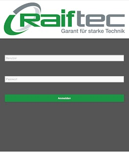 Raiftec APP screenshot 0