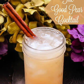 The Good Pear Cocktail.
