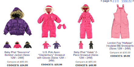 Photo: I know my niece needs a winter coat or snowsuit. There are lots of great options.