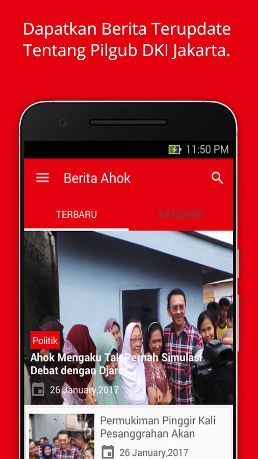 Berita Ahok- screenshot