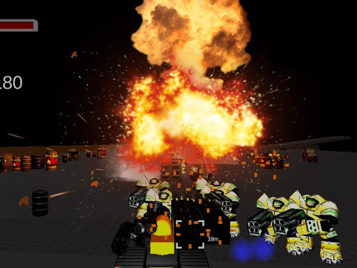 3D Robo Metal Warirors Game
