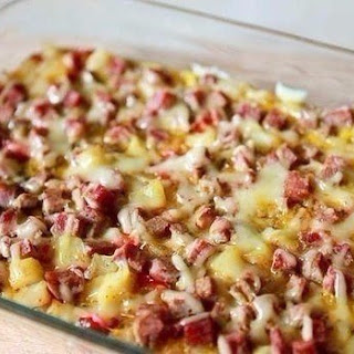 Frittata In Spanish With Ham