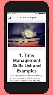 Time Management Skills - náhled