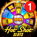 Hot Shot Casino Free Slots Games: Real Vegas Slots icon