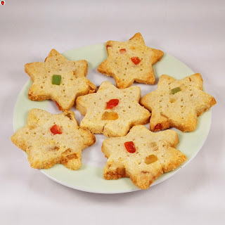 Vegan Christmas Shortbread Cookies Recipe