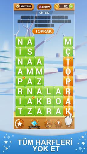 Kelime Hasadu0131 - Yeni Tu00fcrku00e7e Kelime Oyunu apkmr screenshots 2