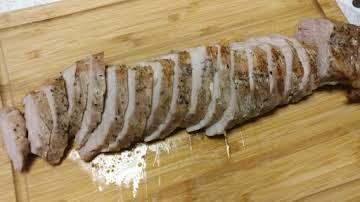 Roast Pork Tenderloin In The NuWave Oven