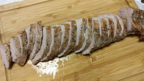 Roast Pork Tenderloin In The Nuwave Oven Recipe