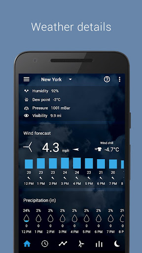 Transparent clock & weather  screenshots 4