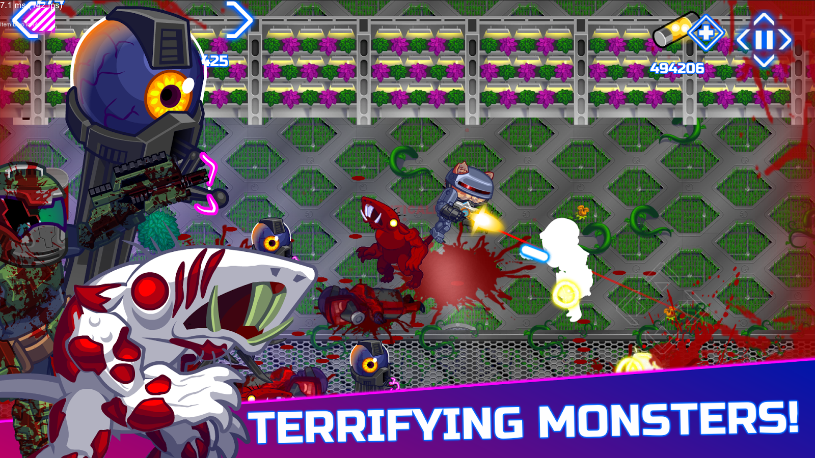 Armored Kitten: Cats vs. Zombies- screenshot
